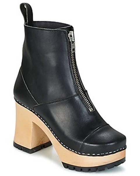 Čierne topánky Swedish hasbeens