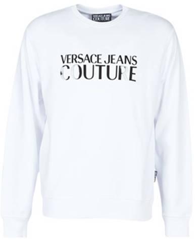 Biela mikina Versace Jeans Couture