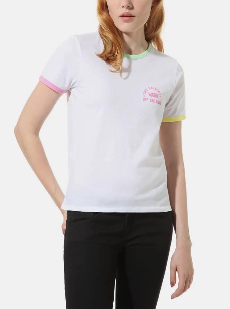 Vans Biele dámske tričko VANS