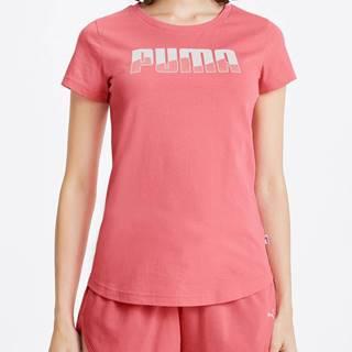 Tričko Puma Rebel Graphic Tee Růžová