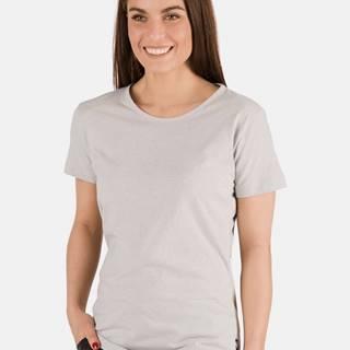 Svetlošedé dámske tričko SAM 73