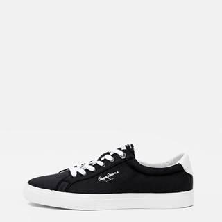 Čierne pánske tenisky Pepe Jeans