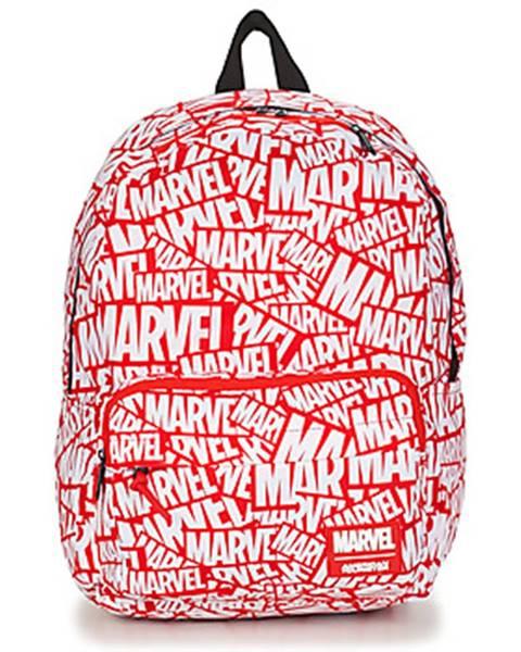Červený batoh American Tourister