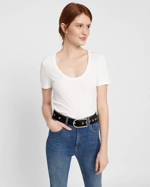 Biele tričko Pieces