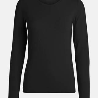 Čierne basic tričko Pieces Sirene