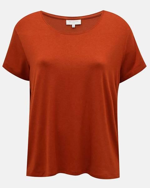 Hnedé tričko ONLY CARMAKOMA