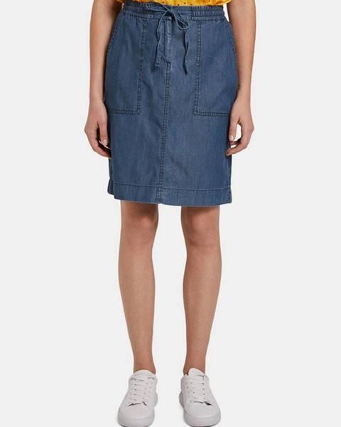 Modrá sukňa Tom Tailor