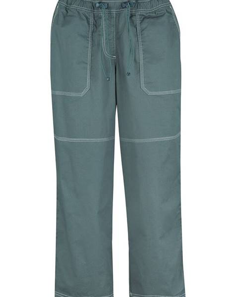 Zelené capri nohavice bonprix