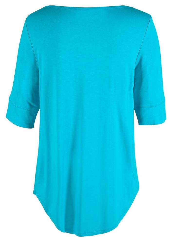 bonprix Dlhé tričko, polovičný rukáv