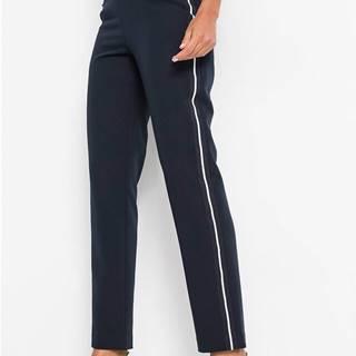 Oblekové nohavice s pásikmi