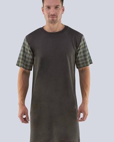 Tmavosivá košeľa GINO
