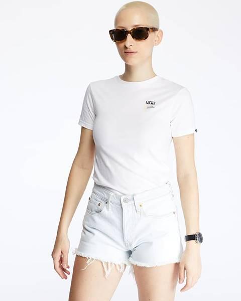 Biele tričko Vans