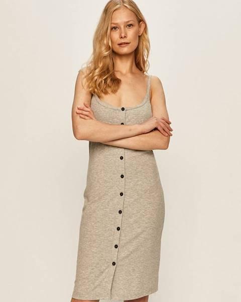 Sivé šaty Noisy May