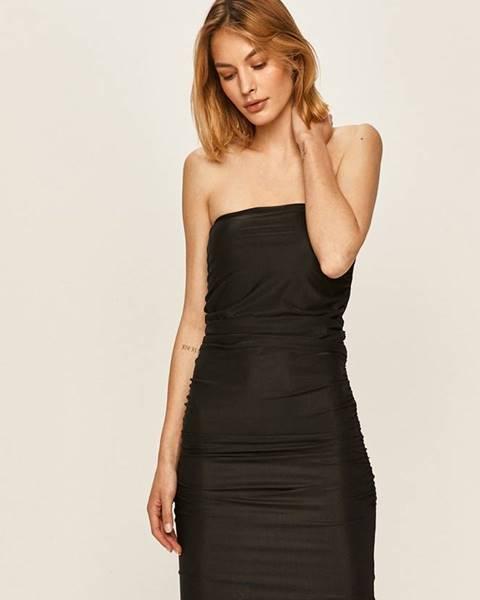 Čierne šaty Pinko