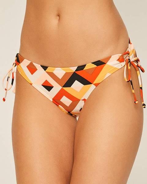 Oranžové plavky Billabong