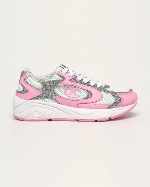 Ružové topánky Champion