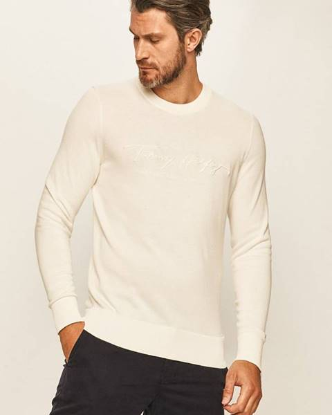 Béžový sveter Tommy Hilfiger