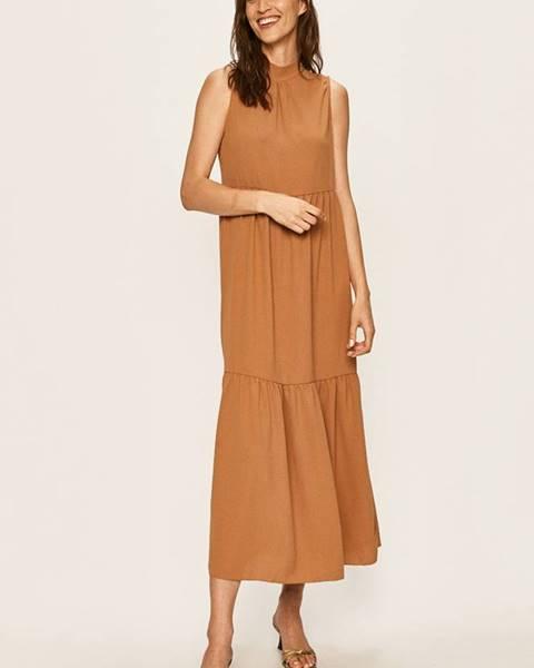 Hnedé šaty Haily's