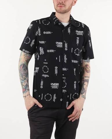 Čierna košeľa Vans