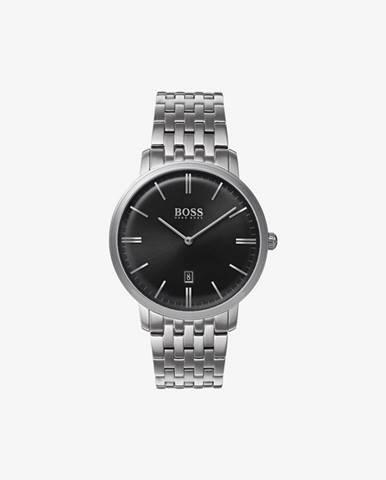 Strieborné hodinky BOSS