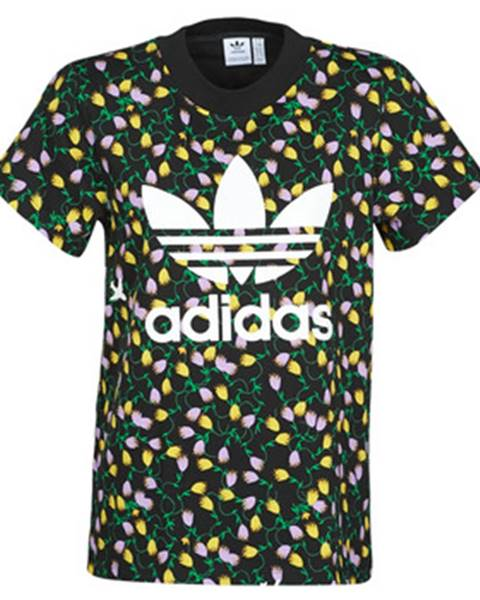 Čierne tričko adidas