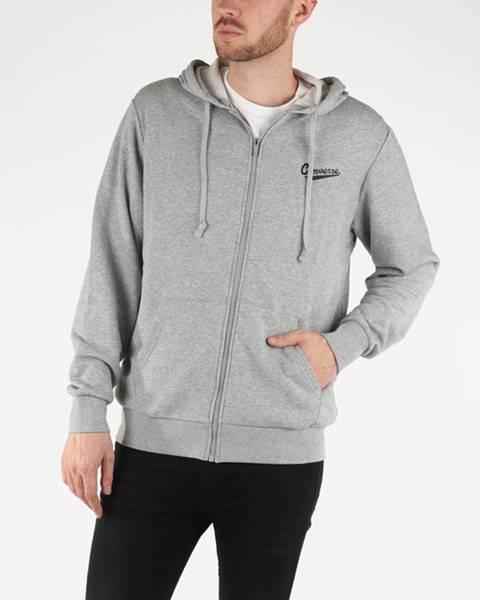 Sivá bunda s kapucňou Converse
