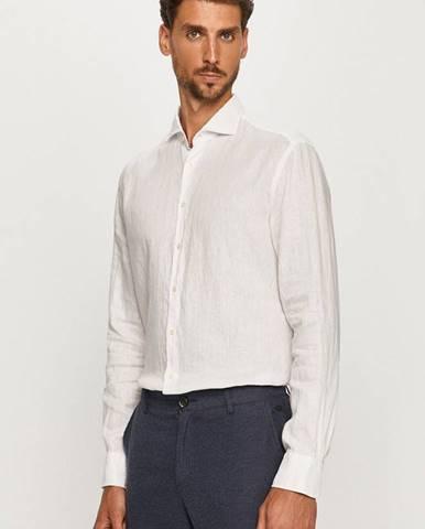 Biela košeľa Baldessarini