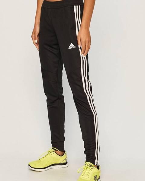 Čierne nohavice adidas Performance