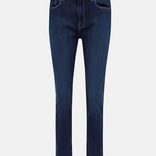 Tmavomodré dámske skinny fit rifle Pepe Jeans Cher High