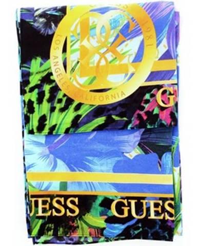 Modrá šatka Guess