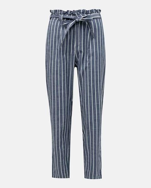 Modré nohavice Vero Moda